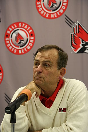 Stan Parrish - Parrish at Ball State in 2009