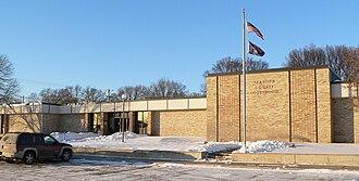 Stanton County, Nebraska - Image: Stanton County Courthouse (Nebraska) from S 4