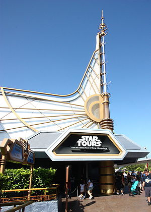 Star Tours - Attraction at Disneyland