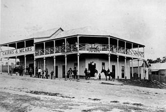 Herberton, Queensland - Cosmopolitan Hotel in Herberton in 1888