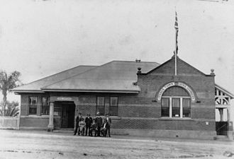 Town of Ithaca - The Ithaca Town Council Chambers in Enoggera Terrace in 1920.