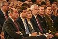 State Department Senior Leaders on European Affairs Watch as Secretary Pompeo Delivers Remarks at the German Marshall Fund in Brussels, Belgium (44357110390).jpg