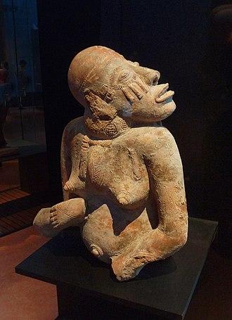Djenné-Djenno - Image: Statuette féminine Région de Djenné Mali