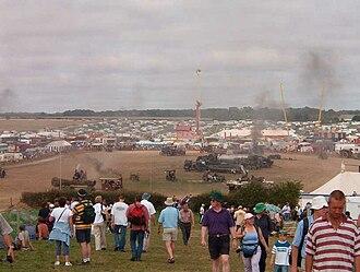 Great Dorset Steam Fair - The steam fair in 2004