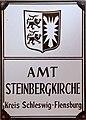 Steinbergkirche Schild Amtsschild Amt Steinbergkirche bis 31 12 2007 Foto Wolfgang Pehlemann DSC00613.jpg