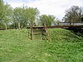 Steps up an embankment on the Stour Valley Walk - geograph.org.uk - 783103.jpg