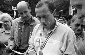 Antrim International Cross Country - Steve Ovett took the honours in the second and seventh editions.