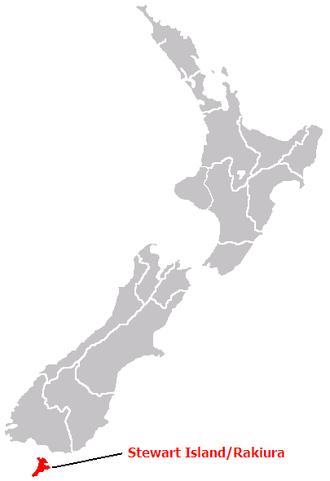 New Leinster Province - Stewart Island/Rakiura
