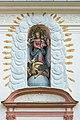 Stift Griffen Pfarrkirche Mariae Himmelfahrt W-Portal Supraporte Madonna della Vittoria 22102015 1849.jpg