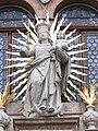 Stiftskirche Schlägl - Kirchenportal 2 Maria vom Siege.jpg