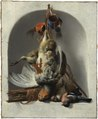 Still Life with Birds and Hunting Gear in a Niche (Melchior de Hondecoeter) - Nationalmuseum - 17470.tif