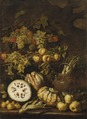 Still Life with Fruit (Pietro Paolo Bonzi) - Nationalmuseum - 17346.tif