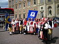 Stockholm, Gamla Stan, People in traditional costumes.jpg