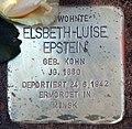 Stolperstein Argentinische Allee 20 (Zehld) Elsbeth-Luise Epstein.jpg