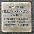 Stolperstein Augsburger Str 42 (Charl) Max Herrmann.jpg
