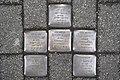 Stolperstein Duisburg 400 Ruhrort Harmoniestraße 38 6 Stolpersteine.jpg