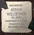 Stolperstein Hektorstr 16 (Halsee) Arthur Wollsteiner.jpg