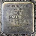 Stolperstein Karl-Liebknecht-Str 9 (Mitte) Edith Rosenthal.jpg