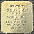 Stolperstein Nathan Simon (Springerweg 6 Pohl-Göns).jpg