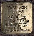 Stolperstein Westfälische Str 31 (Halsee) Ernst Jakob Neustadt.jpg
