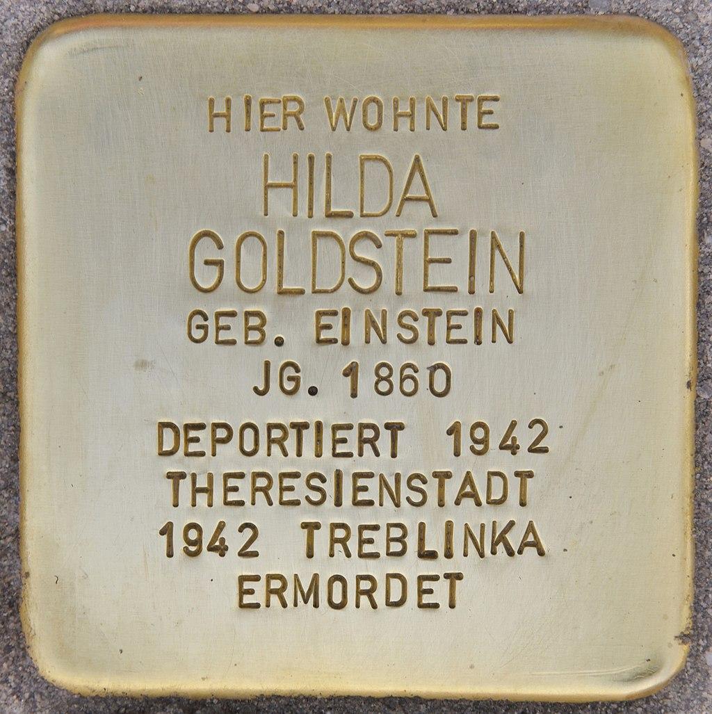 Stolperstein für Hilda Goldstein (München).jpg