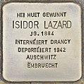 Stolperstein für Isidor Lazard (Differdingen).jpg