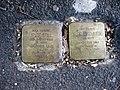Stolpersteine Jente Still und Eugen Eschwege vor Dotzheimer Str. 31 (Wiesbaden).jpg