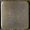 Stolpersteine Köln, Dr. Albert Kramer (Pauliplatz 6).jpg