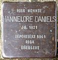Stolpersteine Krefeld, Hannelore Daniels (Issumer Straße 7).jpg