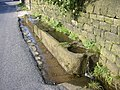Stone water trough, Mankinholes - geograph.org.uk - 94331.jpg