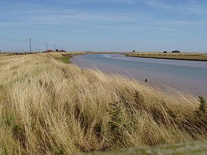 Alde–Ore Estuary - Image: Stony Ditch on Orford Ness geograph.org.uk 1472297