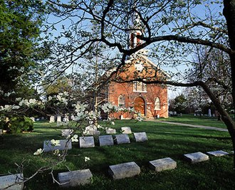 Haymarket, Virginia - St. Paul's Church in Haymarket.