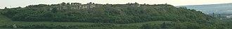 Stránská skála - General view of the Atapuerca Mountains