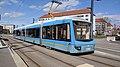 Straßenbahn Chemnitz 3 611 TU-Campus 1903171303.jpg