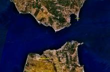 Mappa dello stretto