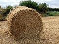 Straw bale, Mareham on the Hill - geograph.org.uk - 560297.jpg