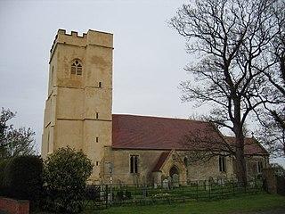 St John the Baptists Church, Strensham Church in Worcestershire, England