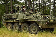 Stryker vehicle