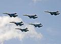 Sukhoi Su-27UB & Su-27 (4258490129).jpg