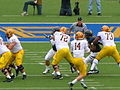 Sun Devils on offense at Arizona State at Cal 2010-10-23 4.JPG