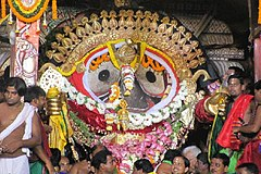 Suna Vesha or Golden Attire of Lord Shri Jagannath of Puri.jpg
