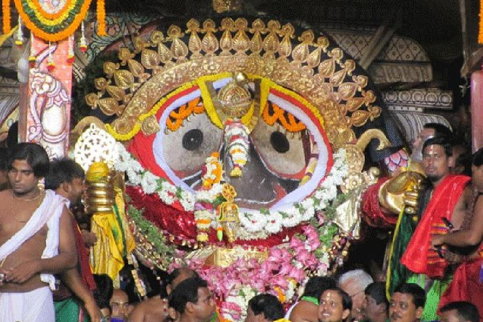 Suna Vesha or Golden Attire of Lord Shri Jagannath of Puri