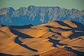 Sundown on the Dumont Dunes from the SW - near Shoshone, California (13843435423).jpg