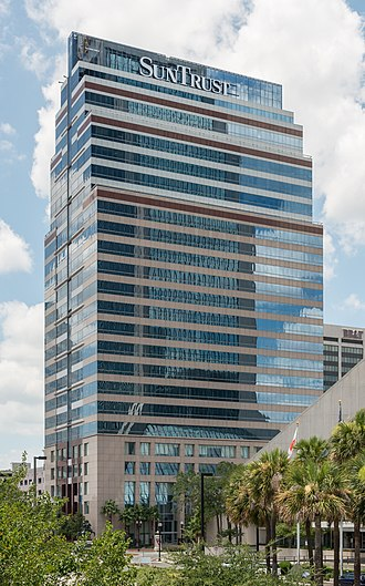 SunTrust Tower - Image: Suntrust Tower, Jacksonville FL, Southeast view 20160706 1