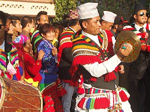 Sunuwar people - Image: Sunuwar udhauli 2014