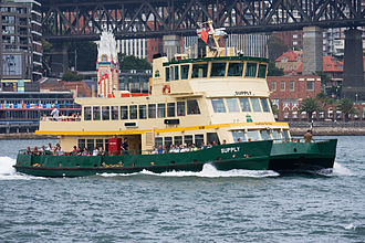 Inner Harbour ferry services - Sydney Ferry Supply