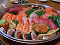 Sushi Sashimi Platter at Suzuran Japan Foods Trading.jpg