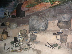 Susquehannock - Susquehannock artifacts on display in the State Museum of Pennsylvania in Harrisburg.