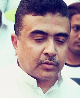 Suvendu Adhikari Indian politician