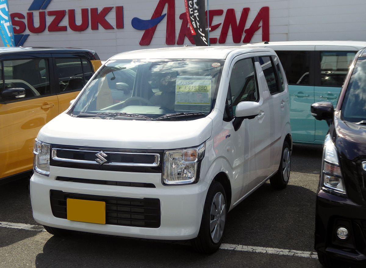 Suzuki WAGON R HYBRID FX (DAA-MH55S) front.jpg